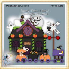 Halloween Paper Crafts, Halloween Doodle, Halloween Clipart, Halloween Cards, Fall Halloween, Halloween Decorations, Halloween Cookies, Halloween Scrapbook, Diy Scrapbook