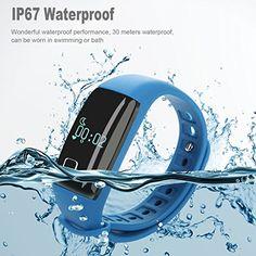 iMusi Bracelet Concecté Temps Réel Montre de Sport Fitness Etanche IP67…