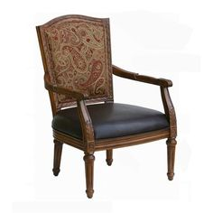 Comfort Pointe 149-01 Kent Carved High Back Accent Chair