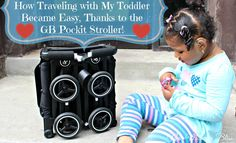 How Traveling with My Toddler Became Easy Thanks to the #GBPockit Stroller! baby BabyGear Diaper Bag GB review Stroller