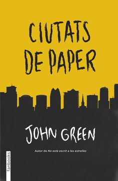 Green, John.  Ciutats de paper. Barcelona : Fanbooks, 2014 John Green, Novels, Company Logo, Signs, Barcelona, Frases, Author, Reading, Libros