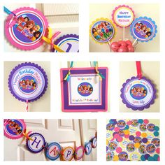 Lego Friends Party Package by BerrySweetParties on Etsy Lego Friends Birthday, Lego Friends Party, 9th Birthday Parties, Lego Birthday Party, Happy Birthday Banners, Birthday Ideas, Girls Lego Party, Kids Party Themes, Birthday Party Decorations