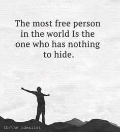 Free ! Nothing to hide !