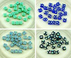 ✔ What's Hot Today: 30pcs Dotted Peacock Vitrail Flat Square Tile One Hole Czech Glass Beads 6mm x 6mm https://czechbeadsexclusive.com/product/30pcs-dotted-peacock-vitrail-flat-square-tile-one-hole-czech-glass-beads-6mm-x-6mm/?utm_source=PN&utm_medium=czechbeads&utm_campaign=SNAP #CzechBeadsExclusive #czechbeads #glassbeads #bead #beaded #beading #beadedjewelry #handmade