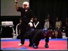 Manny Reyes Jr vs Rafond Mills 2002 Bluegrass Nationals KarateTournament