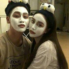 Perfect Couple, Sweet Couple, Beautiful Couple, Korean Couple, Korean Girl, Asian Girl, Goofy Couples, Girl Couple, Ulzzang Couple