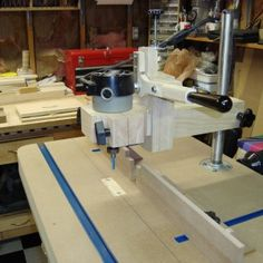 homemade router table top