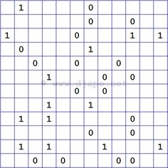 Binär Kreuzworträtsel