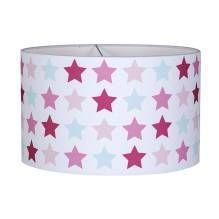 Hängelampe rund - Mixed Stars Pink von Little Dutch