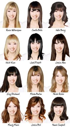 Which one do you like best? They all have bangs though.