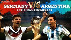 FIFA 2014 Final Faceoff – Germany Vs Argentina