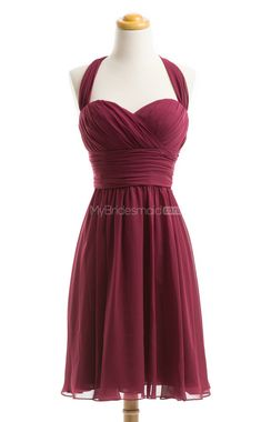 Exquisite Bridesmaid A-Line Sweetheart Chiffon Bridesmaid Dresses(BSD097) in Navy