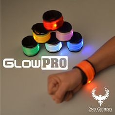 GlowPRO LED Slap Bra