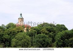 Castle Schloss Tonndorf in the administrative district Weimar. Central Europe, Germany, Thuringia.
