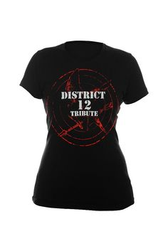 The Hunger Games District 12 Tribute Tee