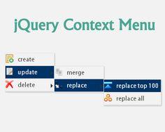 contextMenu.js – Customizable jQuery Context Menu