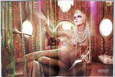 LaChapelle Studio - Series - Evening in Space: Flaunt Magazine