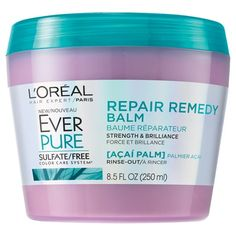 LOreal Paris EverPure Sulfate Free Repair Remedy Balm - 8.5 fl oz : Target $7.99 In store and Online