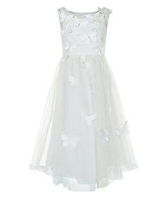 Ruby Butterfly Dress | Ivory | Monsoon