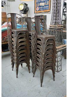 Chaise tolix A style Vintage