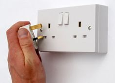 UK outlet and plug