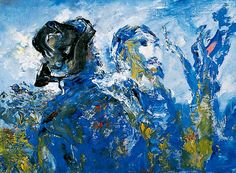 'That we may never meet again' (c. 1953-1958) by Jack Butler Yeats