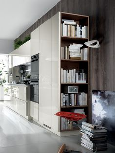 Fitted kitchen SCENERY - Scavolini