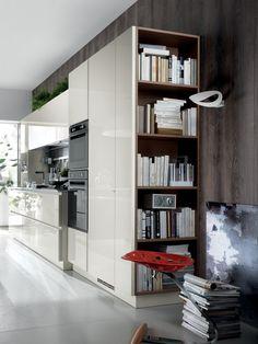 Cozinha integral SCENERY Linha Scavolini by Scavolini design King
