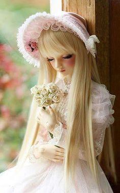 Some Cute Dolls Which I Love to See! — Steemit Beautiful Barbie Dolls, Pretty Dolls, Anime Dolls, Bjd Dolls, Fairy Dolls, Felt Dolls, Barbie Images, Cute Baby Dolls, Cute Cartoon Girl