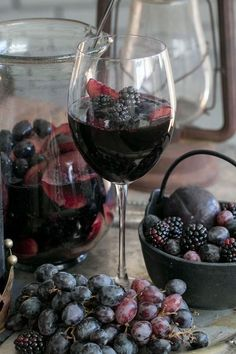 tumblr....blackberries and wine