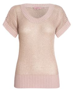 Ted Baker blush jumper - Soft and feminine, great with skinny jeans and bold accessories. Season Colors, Tartan, Ted Baker, Jumper, Branding Design, Give It To Me, Blush, Feminine, Skinny Jeans