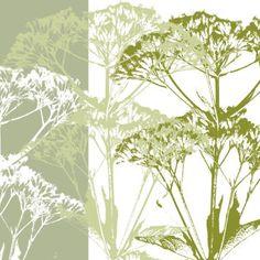 Delicate Greens Artwork