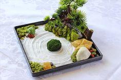 Indoor Zen Garden, Mini Zen Garden, Moss Garden, Garden Art, Bonsai, Japanese Garden Zen, Miniature Zen Garden, Buddha Garden, Hotel Food