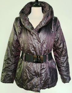 * * * AIRFIELD Steppjacke braun, Gr.38 * * * Leather Jacket, Ebay, Fashion, Clothing Accessories, Jackets, Back Stitch, Fashion Women, Studded Leather Jacket, Moda