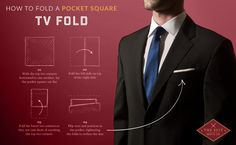 The Perfect Pocket Square Holder will keep you looking dapper with ease. No more fuss or messing around with a sagging pocket square. Makes wearing a pocket square every day so easy and simple. Mens Fashion Blazer, Preppy Mens Fashion, Men Fashion Show, Men's Fashion, Fashion Tips, Costume, Men Style Tips, Male Style, Men's Style