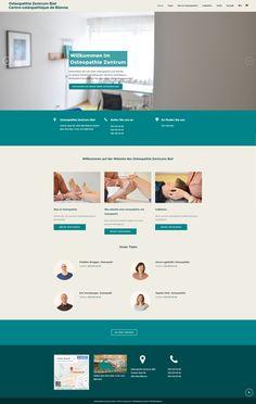 osteopathiebiel Web Design, Design Web, Website Designs, Site Design