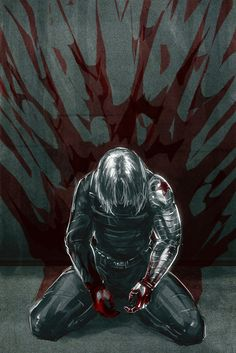 I will never think the Winter Soldier is a villian. He is a victim that had his memories, choices, and life taken away by Hydra. He is broken and empty but inside he is a good man that is forced to do bad things.