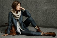 Massimo Dutti Lookbook Winter Collection 2014-15 for Women (6)