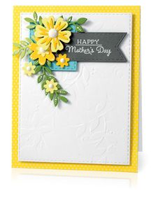 Happy Mother's Day by Jen Schults for Scrapbook & Cards Today