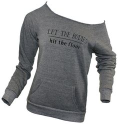 Let the bodies hit the floor slouchy sweatshirt in by missFITTE