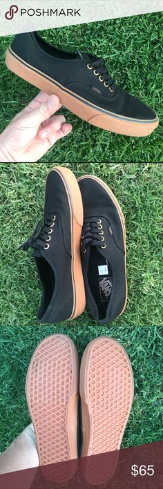 NWB VANS BLACK/RUBBER MENS SIZE 11 BRAND NEW VANS CANVAS /RUBBER 100% AUTHENTIC.   ONE OF EACH SIZE IS AVAILABLE.   SHIPS SAME OR NEXT DAY FROM MY SMOKE FREE HOME.   REASONABLE OFFERS WILL ONLY BE CONSIDERED THROUGH THE OFFER BUTTON. ANY OFFERS IN COMMENTS WILL BE IGNORED.   BUNDLE DISCOUNT SUBJECT TO MY APPROVAL. ✨   TRUSTED RELIABLE SELLER. ALL PRODUCT IS 100% AUTHENTIC & DIRECT FROM VANS Vans Shoes Sneakers