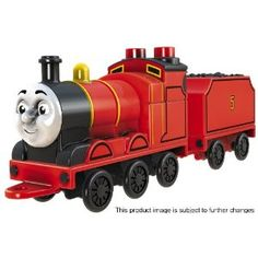 Mega Bloks Thomas and Friends 10504 James Character Engine Job Application Cover Letter, Small Front Gardens, Thomas The Tank, Thomas And Friends, Engineering, Lettering, Thomas Train, Toys, Character