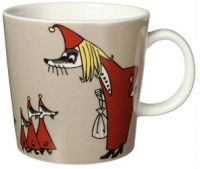 Another Moomin mug, this one the Fillyjonk. From The Moomin Shop. Moomin Mugs, Classic Dinnerware, Tove Jansson, Shops, Tea Art, Ceramic Cups, Marimekko, Whimsical Art, Mugs