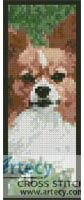 Papillon Bookmark 2 Cross Stitch Pattern http://www.artecyshop.com/index.php?main_page=product_info&cPath=26&products_id=398