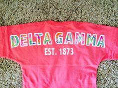 Boxercraft Pom Pom Pullover Spirit Football Jersey Lilly Pulitzer Fabric Delta Gamma $55.00