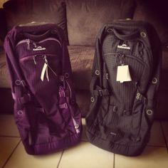 Purple kathmandu trolley / backpacker