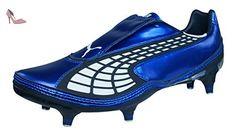 Puma V1.10 SG Homme Chaussures de football-Blue-46 - Chaussures puma (*Partner-Link)