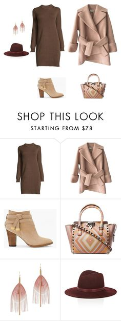 """women"" by merisa-imsirovic ❤ liked on Polyvore featuring Carven, White House Black Market, Serefina and Janessa Leone"