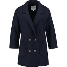 """Kew 159"" Navy Wool Double Breasted Jacket - TK Maxx"