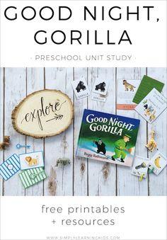 13 Best Gorilla Craft Images Day Care Preschool
